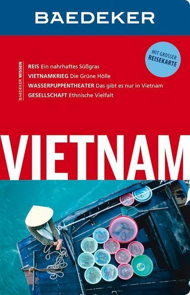Baedeker Reiseführer Vietnam - mit GROSSER REISEKARTE (Mängelexemplar)