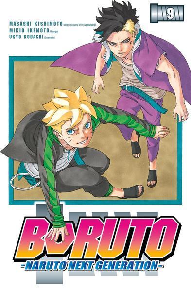 Boruto - Naruto the next Generation 9 (Mängelexemplar)