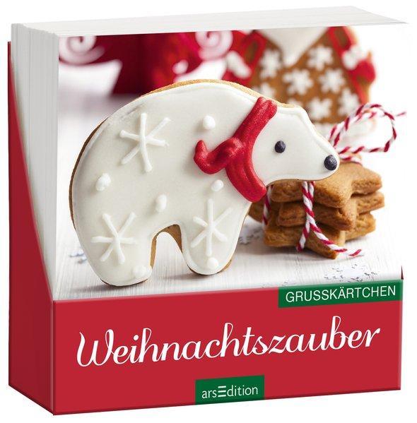 Weihnachtszauber (klassisch) - Grußkärtchen