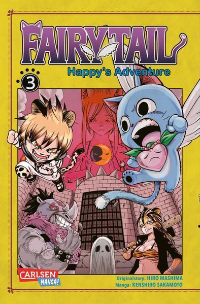 Fairy Tail – Happy's Adventure 3 (Mängelexemplar)