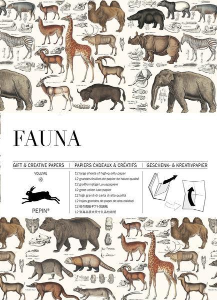 Fauna - Gift & Creative Paper Book Vol. 90 (Mängelexemplar)