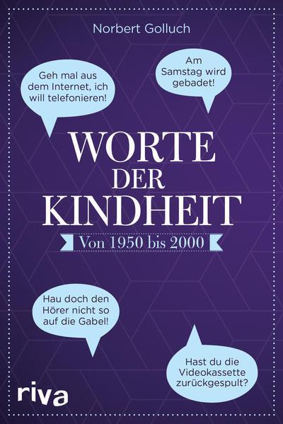 Worte der Kindheit - Von 1950 bis 2000 (Mängelexemplar)