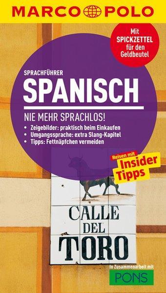 MARCO POLO Sprachführer Spanisch - Nie mehr sprachlos! (Mängelexemplar)