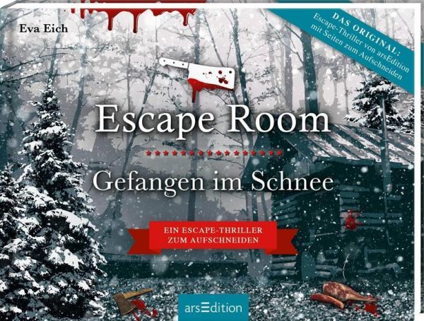 Escape Room. Gefangen im Schnee. Das Original: Der neue Escape-Room-Thriller von Eva Eich - Löse 20