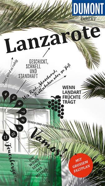 DuMont direkt Reiseführer Lanzarote - Mit großem Faltplan (Mängelexemplar)