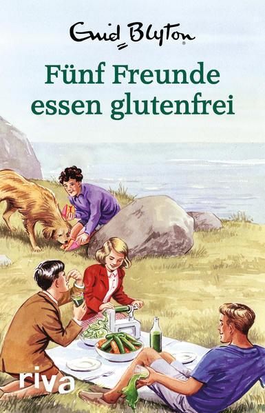 Fünf Freunde essen glutenfrei - Enid Blyton für Erwachsene (Mängelexemplar)