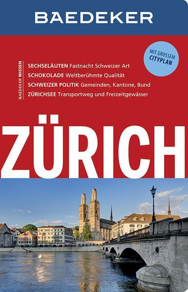 Baedeker Reiseführer Zürich - mit GROSSEM CITYPLAN (Mängelexemplar)