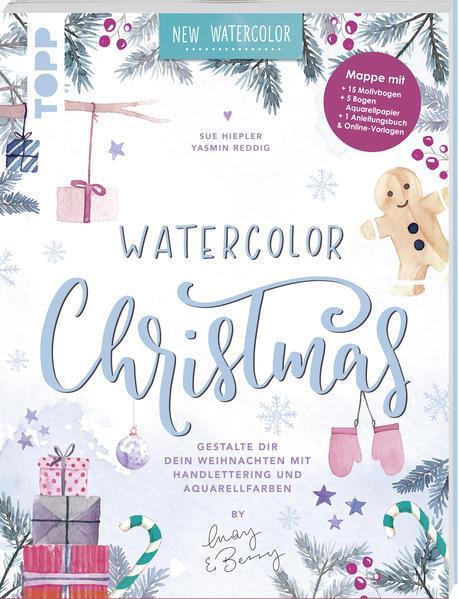 Watercolor Christmas. Gestalte dir dein Weihnachten (Mängelexemplar)