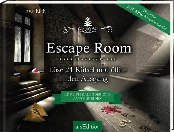 Escape Room. Der erste Escape-Adventskalender - 24 Rätsel (Mängelexemplar)