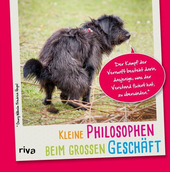 Kleine Philosophen beim großen Geschäft (Mängelexemplar)