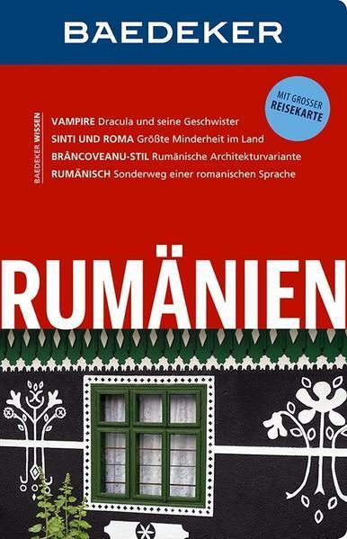 Baedeker Reiseführer Rumänien - mit GROSSER REISEKARTE (Mängelexemplar)