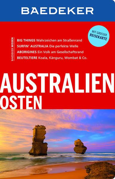 Baedeker Reiseführer Australien Osten - mit GROSSER REISEKARTE (Mängelexemplar)