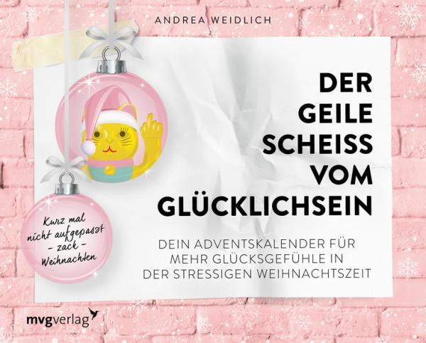 Der geile Scheiß vom Glücklichsein – Adventskalender (Mängelexemplar)