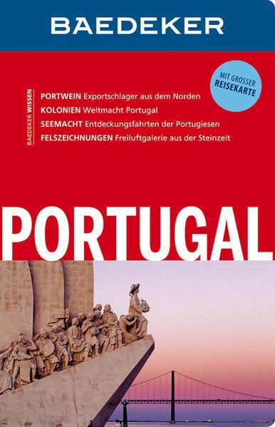 Baedeker Reiseführer Portugal - mit GROSSER REISEKARTE (Mängelexemplar)
