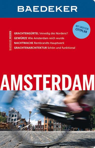 Baedeker Reiseführer Amsterdam - mit GROSSEM CITYPLAN (Mängelexemplar)
