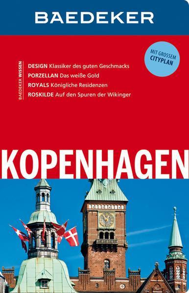 Baedeker Reiseführer Kopenhagen - mit GROSSEM CITYPLAN (Mängelexemplar)