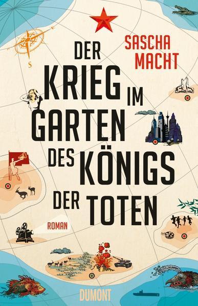 Der Krieg im Garten des Königs der Toten - Roman (Mängelexemplar)