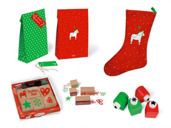 Kreative Weihnachtsartikel im skandinavischen Design - Sparpaket