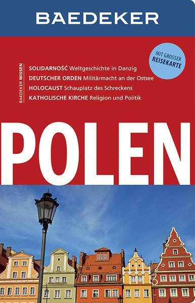 Baedeker Reiseführer Polen - mit GROSSER REISEKARTE (Mängelexemplar)