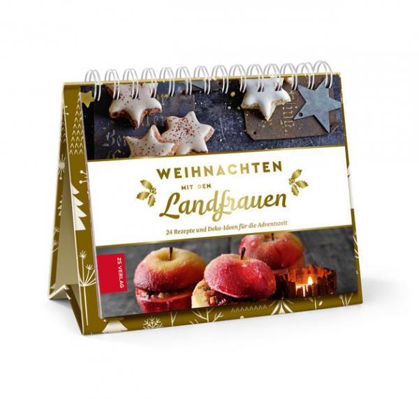 Weihnachten mit den Landfrauen - 24 Rezepte und Deko-Ideen für die Adventszeit (Mängelexemplar)