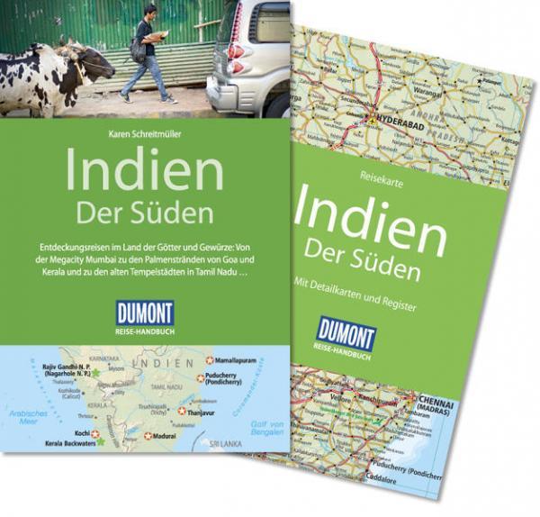 DuMont Reise-Handbuch Reiseführer Indien, Der Süden - mit Extra-Reisekarte (Mängelexemplar)