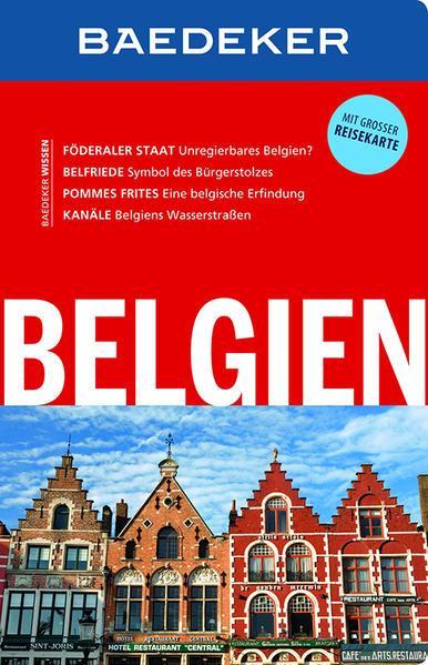 Baedeker Reiseführer Belgien - mit GROSSER REISEKARTE(Mängelexemplar)