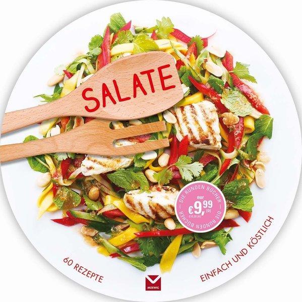 Die runden Bücher: Salate (Mängelexemplar)