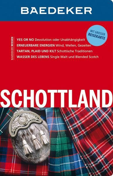 Baedeker Reiseführer Schottland - mit GROSSER REISEKARTE (Mängelexemplar)