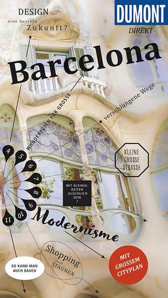 DuMont direkt Reiseführer Barcelona - Mit großem Cityplan (Mängelexemplar)