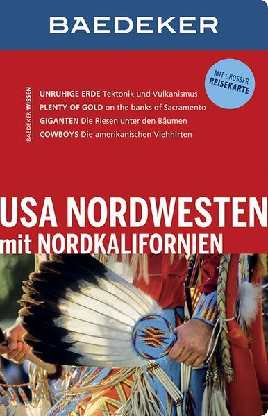 Baedeker Reiseführer USA Nordwesten - mit GROSSER REISEKARTE (Mängelexemplar)