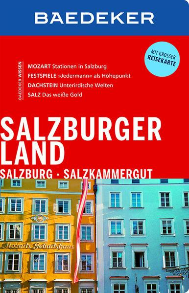 Baedeker Reiseführer Salzburger Land, Salzburg, Salzkammergut (Mängelexemplar)