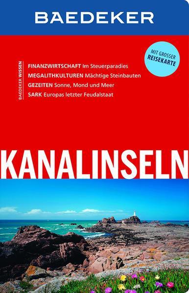 Baedeker Reiseführer Kanalinseln - mit GROSSER REISEKARTE (Mängelexemplar)
