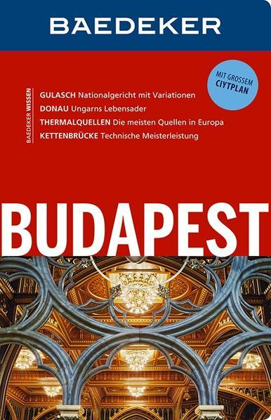 Baedeker Reiseführer Budapest - MIT GROSSEM CITYPLAN (Mängelexemplar)