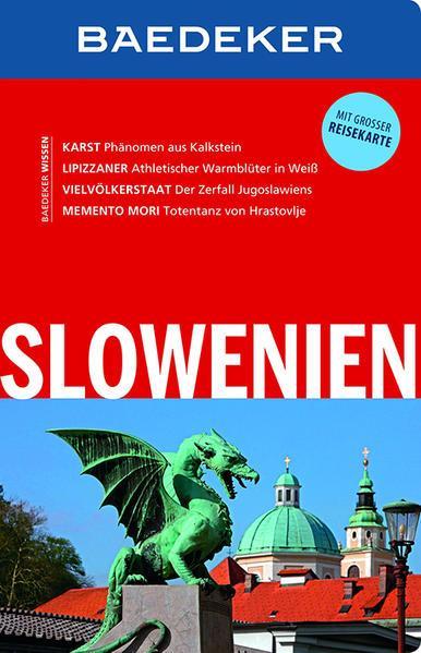 Baedeker Reiseführer Slowenien - mit GROSSER REISEKARTE (Mängelexemplar)