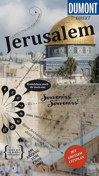 DuMont direkt Reiseführer Jerusalem - Mit großem Cityplan (Mängelexemplar)