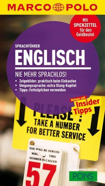 MARCO POLO Sprachführer Englisch - Nie mehr sprachlos! (Mängelexemplar)