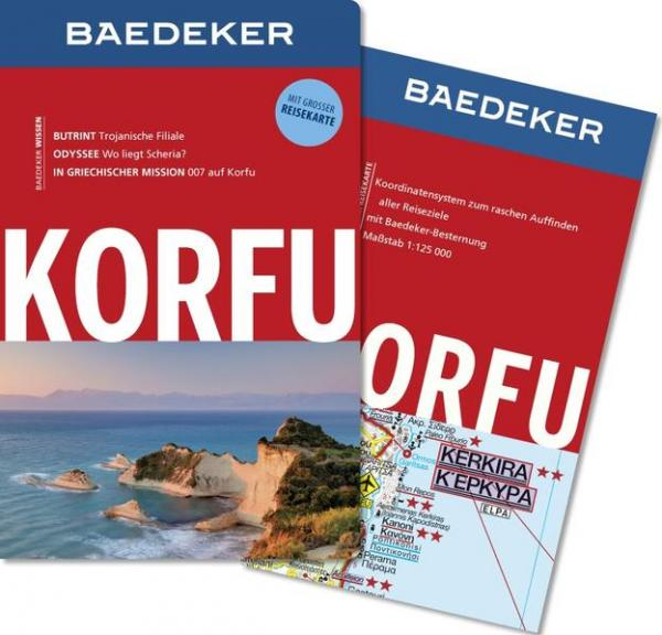 Baedeker Reiseführer Korfu - MIT GROSSER REISEKARTE (Mängelexemplar)