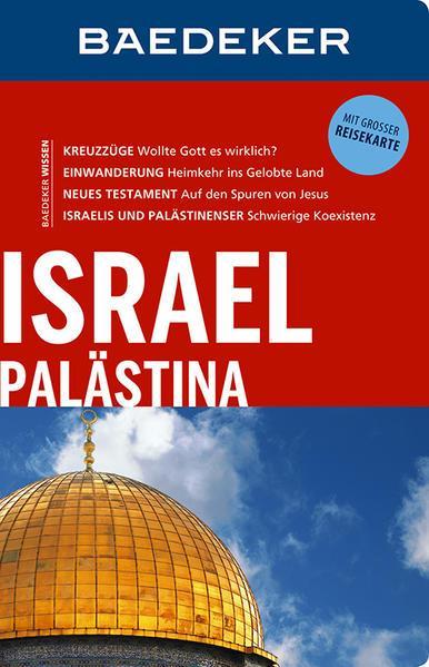 Baedeker Reiseführer Israel, Palästina - mit GROSSER REISEKARTE (Mängelexemplar)