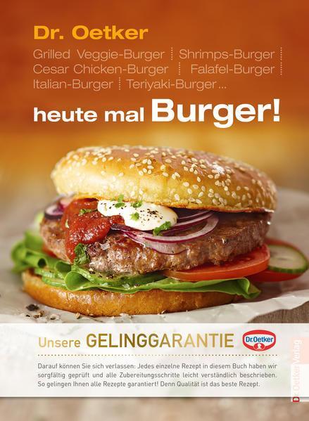 Heute mal Burger (Mängelexemplar)
