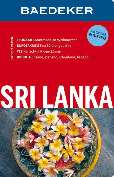 Baedeker Reiseführer Sri Lanka - mit GROSSER REISEKARTE (Mängelexemplar)
