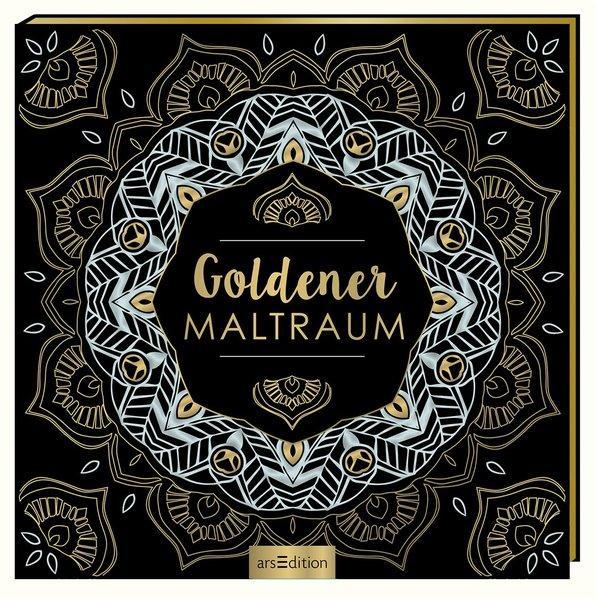 Goldener Maltraum - Malprodukte für Erwachsene