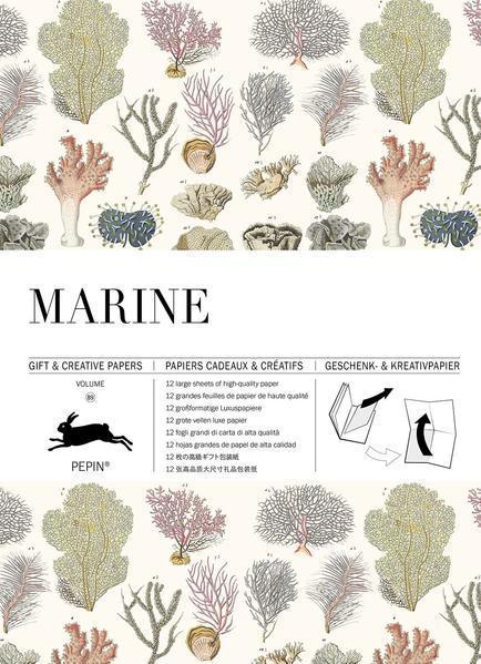 Marine - Gift & Creative Paper Book Vol. 89 (Mängelexemplar)