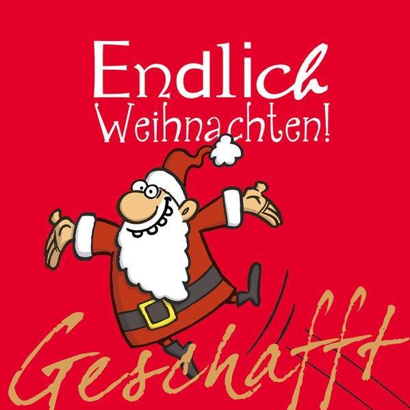 Geschafft: Geschafft! Endlich Weihnachten! (Mängelexemplar)