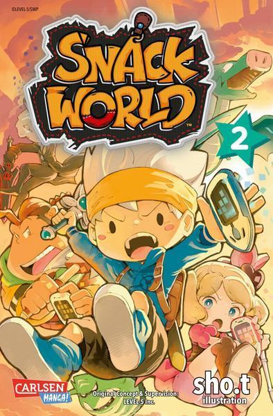 Snack World 2 (Mängelexemplar)