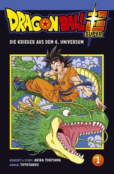 Dragon Ball Super 1 (Mängelexemplar)