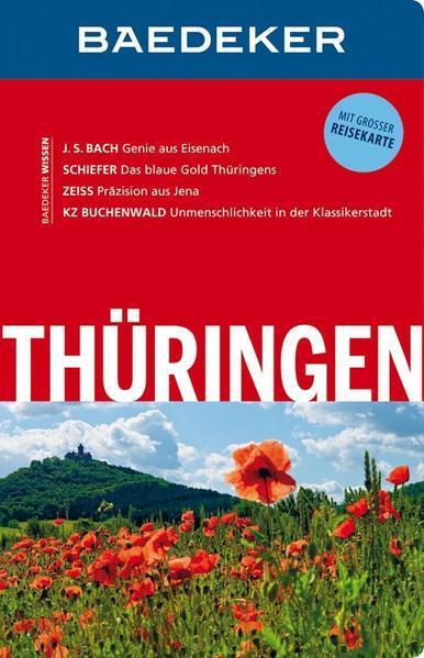 Baedeker Reiseführer Thüringen - mit GROSSER REISEKARTE (Mängelexemplar)