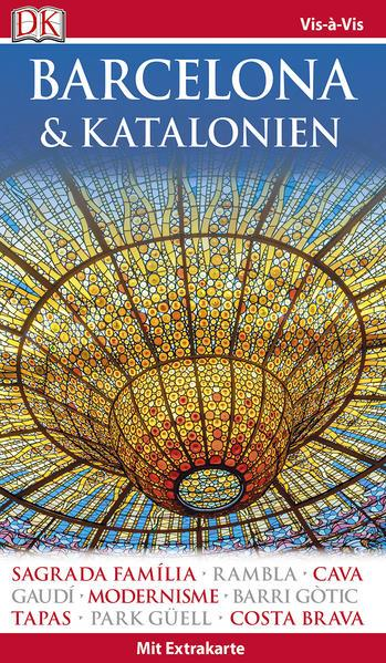 Vis-à-Vis Reiseführer Barcelona & Katalonien - Extra-Karte & Mini-Kochbuch (Mängelexemplar)