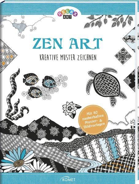 Relax Art - Zen Art - Kreative Muster zeichnen (Mängelexemplar)