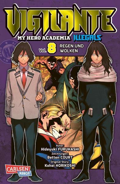 Vigilante - My Hero Academia Illegals 8 (Mängelexemplar)