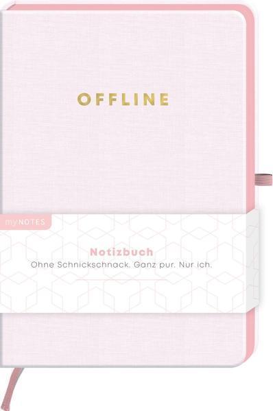 myNOTES Notizbuch Classics Offline - Notizbuch für Träume, Pläne und Ideen